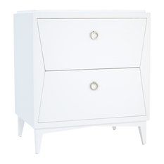 "Ronbow Lexie Solid Wood 30"" Vanity Cabinet Base, White"