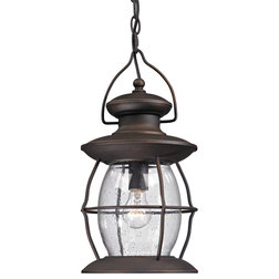Beach Style Outdoor Hanging Lights by HomeClick
