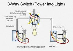 3 Lights Between Two 3 Way Switches