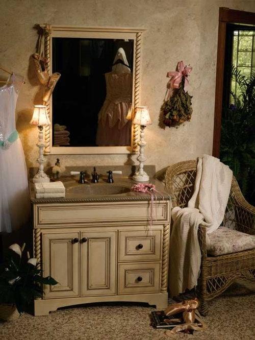 Semi Custom Bathroom Cabinets #24: Bertch Custom Size Bath Cabinetry Donovan - Bathroom Cabinets And Shelves