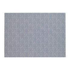 Pronto Rectangle Vinyl Placemats, Bluebell, Set of 4