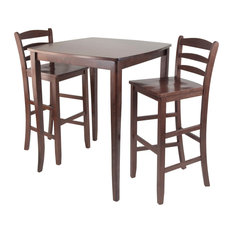 3 -Piece Inglewood High/Pub Dining Table With Ladder Back Stool