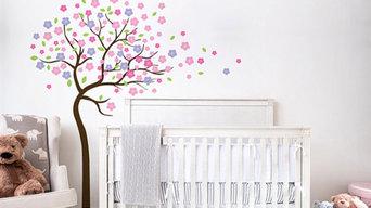 tree wall deco nursery decor