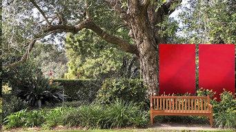 Privatgarten hochwertiger Sichtschutz