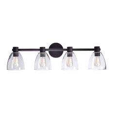 Kenroy Home 92094 Edis 4 Light Vanity Light