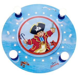 Capt'n Sharky Blue Ceiling/Night Light