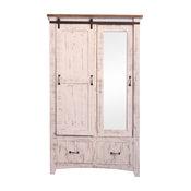 Anton Bedroom Armoire Wardrobe, White