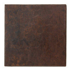 "2"" X 2"" Hammered Mexican Copper Tile (TL502)"