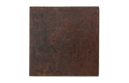 """2"""" X 2"""" Hammered Mexican Copper Tile (TL502)"""