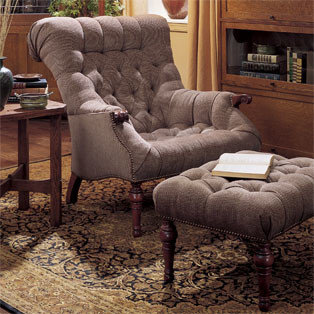 Stickley Leopoldu0027s Chair (Fabric) 96 9328 CH   Armchairs And Accent Chairs