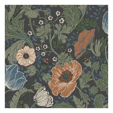 Anemone Multicolor Floral Wallpaper Bolt