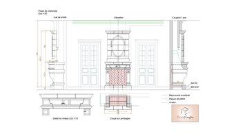 Création d' une cheminée