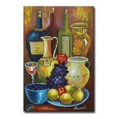 Mediterranean Still Life Art Oil Paintings