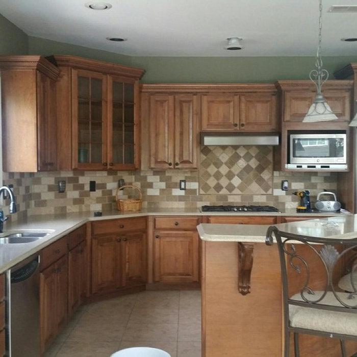 Monroe Kitchen Cabinet Makeover