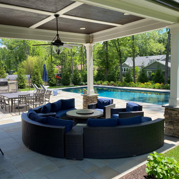 Pool, Patio and Plantings