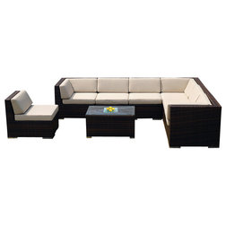 Amazing Tropical Outdoor Lounge Sets by Ohana Depot