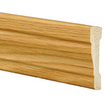 "Inteplast Building Products - Polystyrene OG Casing Moulding, Set of 5, 11/16""x2-3/8""x84"", Majestic Oak - Inteplast Mouldings are the ideal way for you to add style and beauty to your home. Our mouldings are lightweight and come prefinished making them an easy weekend project. Inteplast Woodgrain Mouldings feature a rich wood grain texture with colors that give the natural appearance of expensive, hand-finished mouldings without the hassle of labor-intensive finishing processes making them the perfect accent for your room."