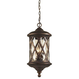 Transitional Outdoor Hanging Lights by Eager House