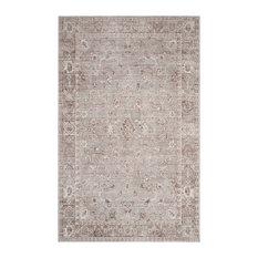 Josina Woven Rug, Grey and Multicoloured, 121x182 cm