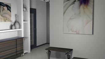 квартира в современном стиле с элементами лофта