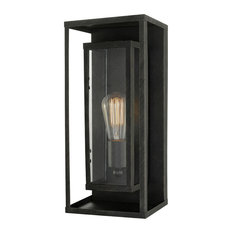 Montague Outdoor Collection 1-Light Bronze Wall Mount Sconce