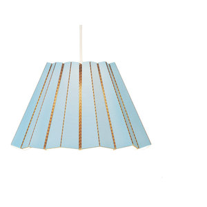 Andbros Model No 1 Pendant Lamp, Sky Blue, Large