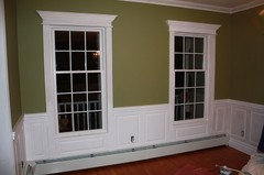 Wainscoting With Baseboard Heaters Help