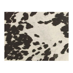 - Black & White Faux Cow Hide Fabric, Cowhide - Upholstery Fabric