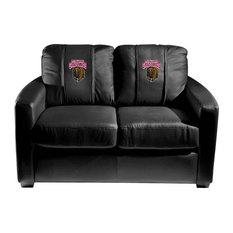 Montana Grizzlies Collegiate Silver Love Seat