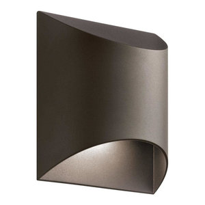 Outdoor Wall 1-Light, LED, Textured Architectural Bronze