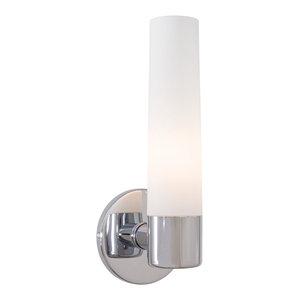 George Kovacs Saber 1-Light Bathroom Lighting Fixture, Chrome
