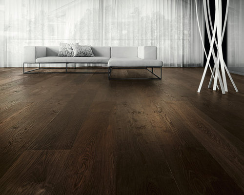 Parkettmanufaktur PLANK 1-STRIP XL 3 M SMOKED OAK brushed with bevelled edge all - Engineered Wood Flooring