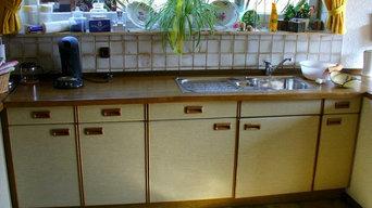 Küchenrenovierung vorher