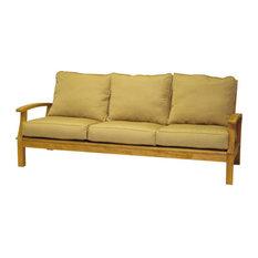 three birds casual monterey deep seating 3seat sofa frame sofas