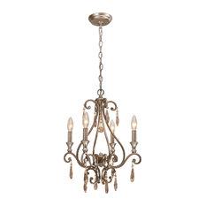 crystorama lighting crystorama shelby 4 light golden shadow crystal mini chandelier chandeliers
