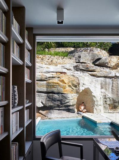 コンテンポラリー  by Luigi Rosselli Architects