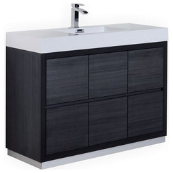 Beautiful Contemporary Bathroom Vanities And Sink Consoles by Kubebath