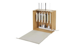 Cord Corral Cable and Cord Organizer, Zen, Without 6-Outlet Power Strip