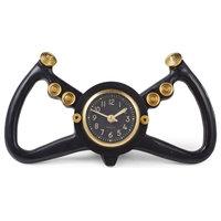 Pendulux Cockpit Table Clock Black