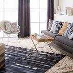 Nantucket Meets Mountain Eclectic Living Room Denver