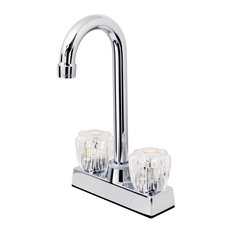 Hardware House Two Handle Bar Faucet, Chrome