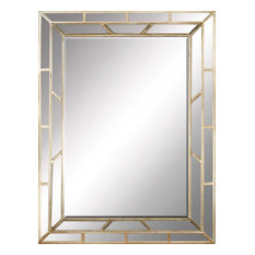 Paragon Decorative Traditional Aged Gold Traditional Mirror