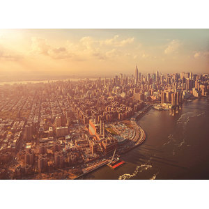 Manhattan Skyline Photo Wall Mural, 254x184 cm