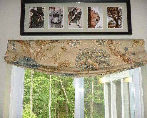faux roman shade - Window Treatments