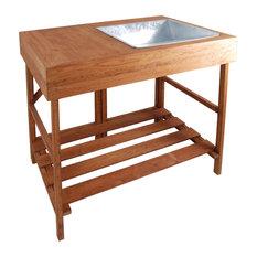 hardwood potting table potting benches