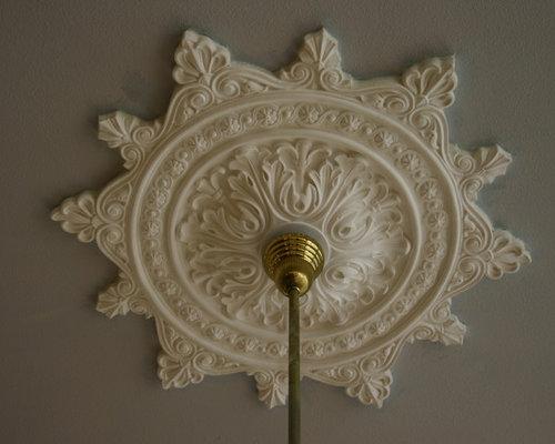 Victorian Plaster Ceiling Medallion
