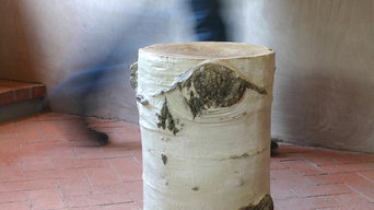 Aspen Stump Stool Table