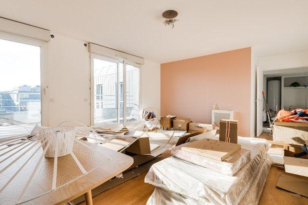 Contemporain Salon by GrAm Architecture