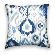 Blue Gray Decorative Pillows Houzz