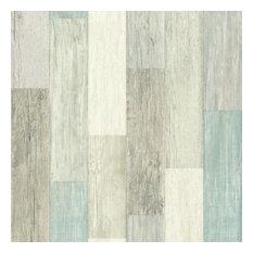 Coastal Weathered Plank Peel and Stick Wallpaper